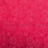 Floral Lace Shocking Pink